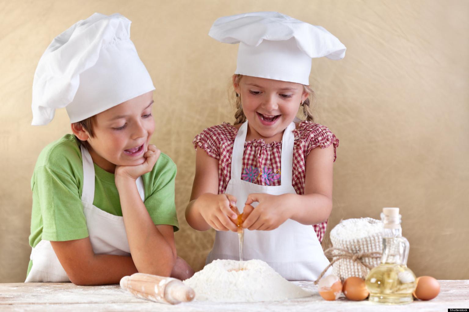 Bạn nên cho bé theo đuổi các khóa học đầu bếp.