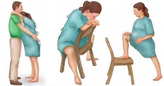 Vào những lúc co thắt, bạn có thể đứng lên và đi lại để giảm bớt cơn đau.
